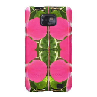 Pink Lilly Lily Flowers FUN TEMPLATE Resellers Samsung Galaxy S2 Covers