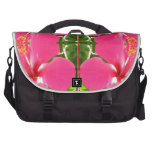 Pink Lilly Lily Flowers FUN TEMPLATE Resellers Laptop Computer Bag