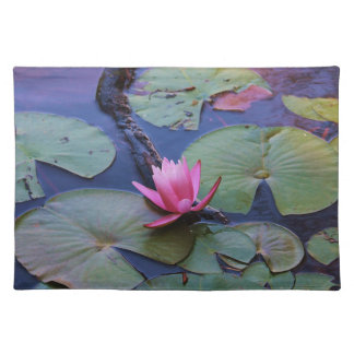 Pink Lilly Pad Cloth Placemat