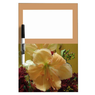 Pink Lily Bouquet Memo Board