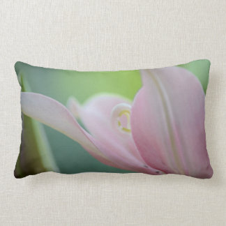 Pink Lily by Shirley Taylor Lumbar Pillow