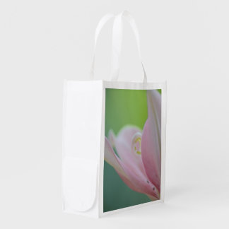 Pink Lily by Shirley Taylor Reusable Grocery Bag
