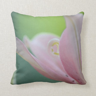 Pink Lily by Shirley Taylor Throw Pillow