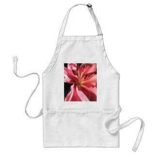 Pink Lily Flower Lilies Flowers Photo Adult Apron