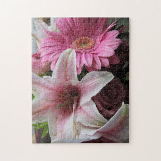 Pink Lily/Gerbera Daisy Puzzle