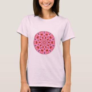 Pink Lily Kaleidoscope #1 T-Shirt