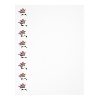 Pink Lily Letterhead