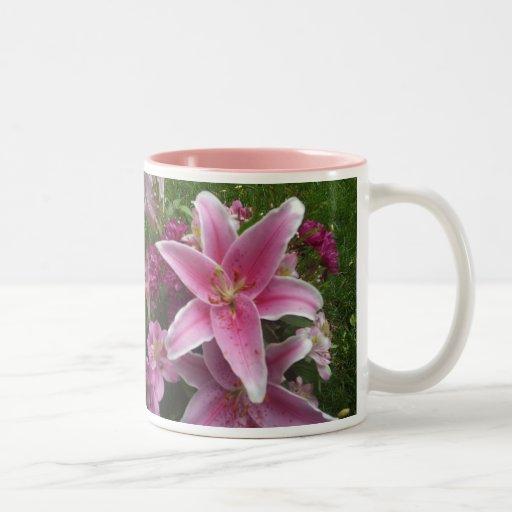 Pink Lily Mug