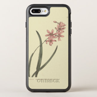 Pink Lily of The Valley Illustration OtterBox Symmetry iPhone 7 Plus Case