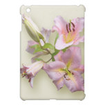 Pink Lily Quartet Cover For The iPad Mini