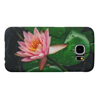 Pink Lilypad Samsung Galaxy S6 Case