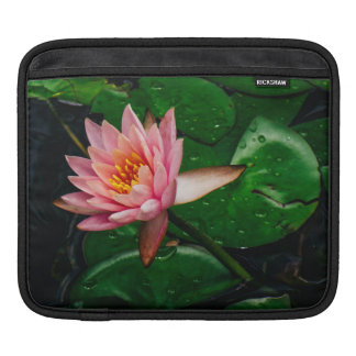 Pink Lilypad Sleeve For iPads