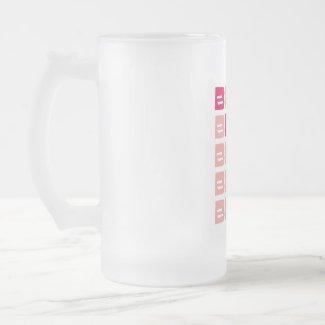 Pink Line Bride mug