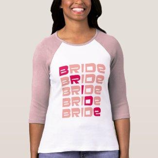 Pink Line Bride T-shirts