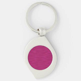 Pink Lines #5 Keychain
