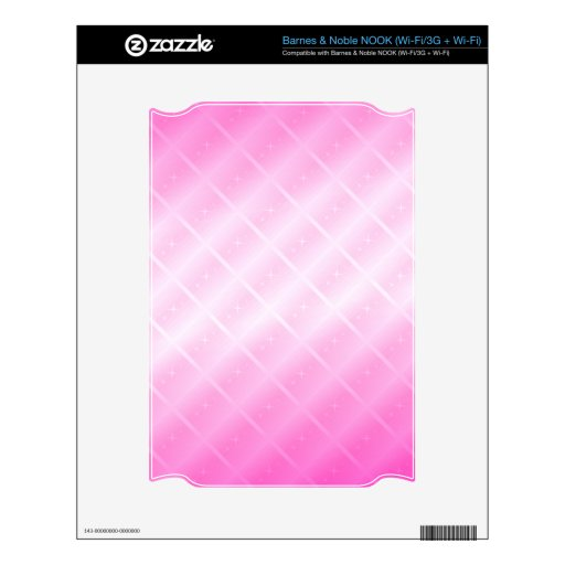 Pink Lines and Stars: Skin For The NOOK