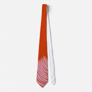 Pink Lines Neck Tie