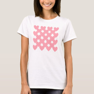 Pink Linked Hearts T-Shirt