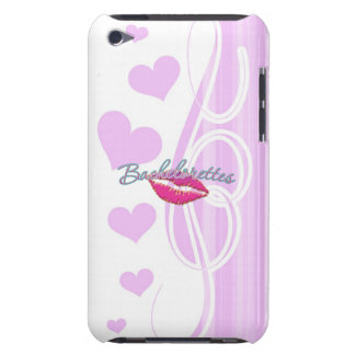 pink lips bachelorettes party bridal bridesmaids iPod touch case