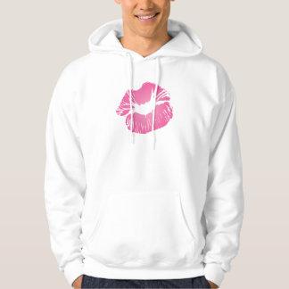 Pink LIps Hoodie