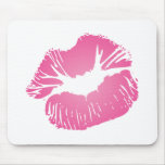 Pink LIps Mouse Pad