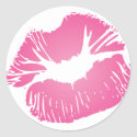 Pink LIps sticker