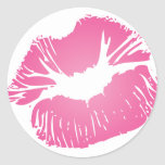 Pink LIps Stickers