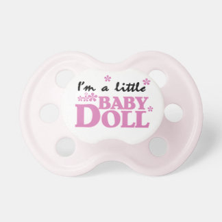 Pink Little Baby Doll Baby Pacifier