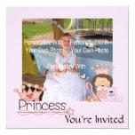 Pink Little Princess Invitations