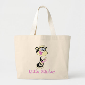 Pink Little Stinker T-shirts and Gifts Canvas Bags