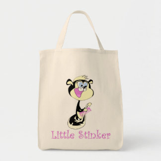Pink Little Stinker T-shirts and Gifts Tote Bag