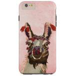 Pink Llama iPhone 6 case
