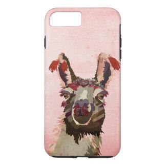 Pink Llama iPhone 7 case