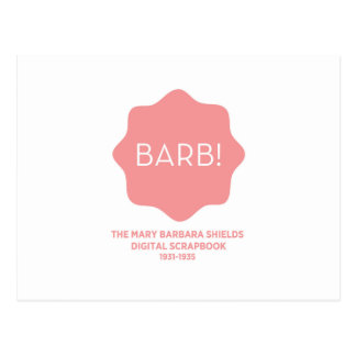 Pink Logo Postcard