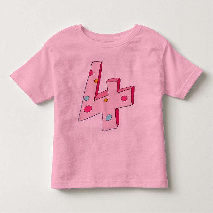 Pink Lolly 4 Child's T Shirt