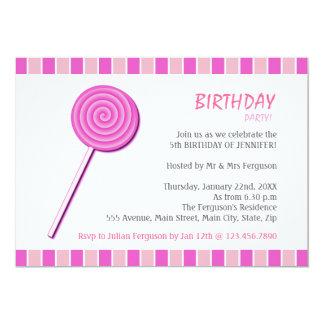 Pink Lollypop Card