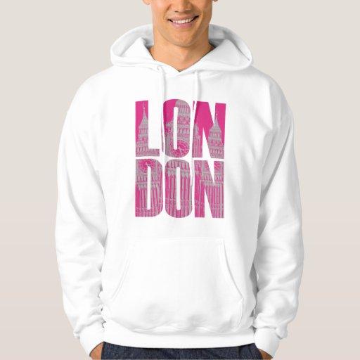Pink London Hoodie