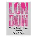Pink London Invites