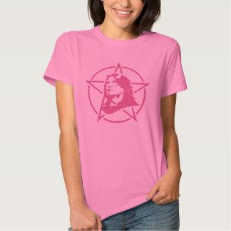 Pink Lord Satan Star Grunge Symbol Tee