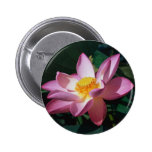Pink Lotus 2 Inch Round Button