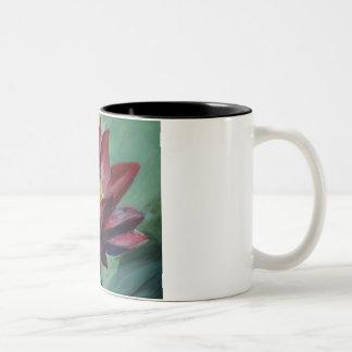 Pink Lotus Black 325 ml  Two-Tone Mug