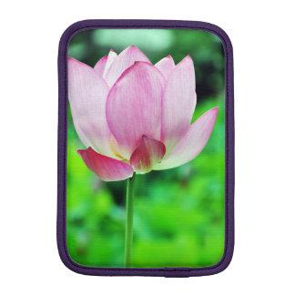 Pink Lotus Blossom iPad Mini Sleeve