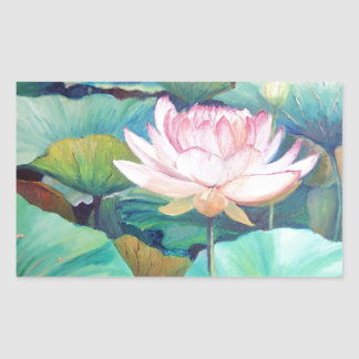 Pink Lotus Blossom Sticker
