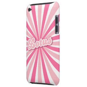 Pink Lotus Case-Mate iPod Touch Case