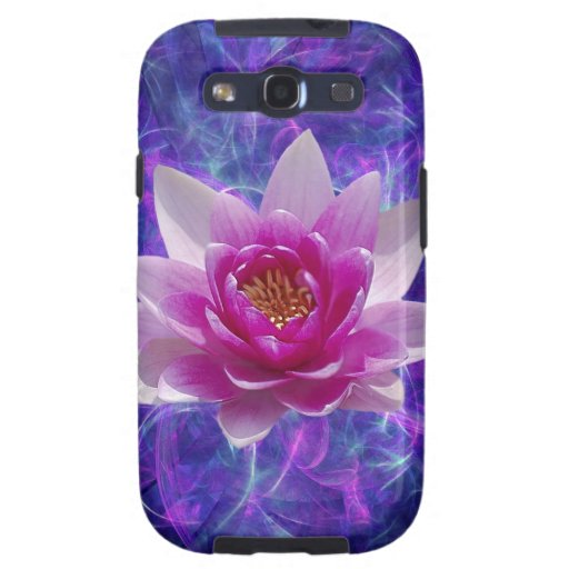 Pink lotus flower and meaning samsung galaxy s3 case