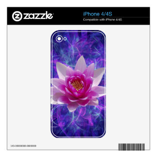 Pink lotus flower and meaning decals for the iPhone 4S