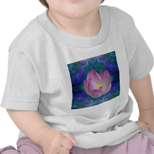 Pink lotus flower and meaning tshirt