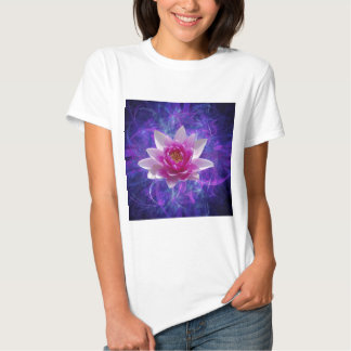 Pink lotus flower and meaning tshirts