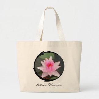 Pink Lotus Flower Bag