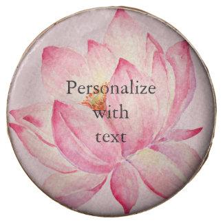Pink Lotus Flower Chocolate Covered Oreo